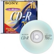 Disks SONY CD-R 80/700MB