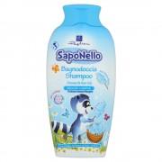 Šampūns un dušas želeja Saponello ar cukurvates aromātu 400ml