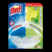 BREF DUO Lime&Mint  tualetes atsvaidzinātājs 60ml