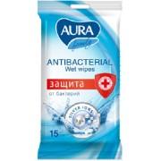 Salvetes antibakterialās AURA