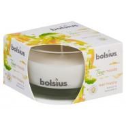 Bolsius Happy 9x6.3cm aromātiskā svece