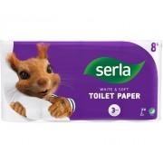 Tualetes papīrs Serla 3 kārtas (8)