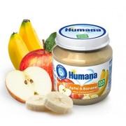 Humana BIO Ābolu un Banānu biezenis 125g