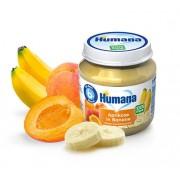 Humana BIO Aprikožu un Banānu biezenis 125g