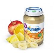 Humana BIO Augļu mix biezenis 190g