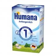 Humana Anfangsmilch 1 piena maisījums no dzimšanas 600g