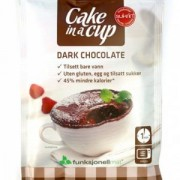 Kūka krūzē - tumšā šokolāde Sukrin 75 g