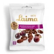Raisins in chocolate Laima 100g