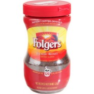 Folgers Classic Roast Instans coffee 226g