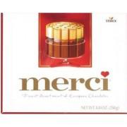 Konfektes MERCI šokolādes izlase 250g