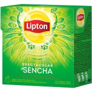 Lipton Pyramid, zaļā, Spectacular Sencha 1.8g*20 JAUNUMS!