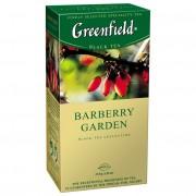 Greenfield Barberry Garden melnā tēja 1.5g*25