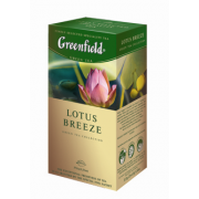 Greenfield zaļā Lotus Breeze 1.5g*25