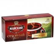 Majskij Otbornij melnā tēja 2g*25