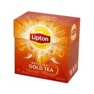Lipton Pyramid, melnā, Brilliant Gold 1.8g*20 JAUNUMS!