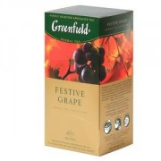 Greenfield Festive Grape zāļu tēja 1.5g*25