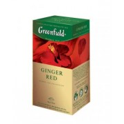 Greenfield Ginger Red zāļu tēja 1.5g*25