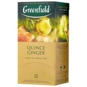 Greenfield Quince Ginger zaļā tēja 2g*25